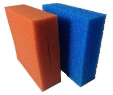 FILTER FOAM OASE BIOTEC 5 10 30 FINE COARSE 3 x BLUE 3 x RED POND SPONGE BLOCK