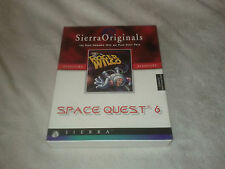 Space Quest 6 : Roger Wilco in the Spinal Frontier Sierra originals - Big Box