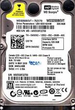 WD3200BEVT-75ZCT0 dcm: HHCVJABB  Western Digital 320GB SATA BBB12-13