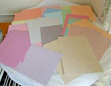 Diamond Check Checked Cardstock A4 Card for Cardmaking Craft 38 Sheets - Mixed
