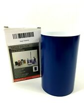 Gedy Portaspazzolini Round Tooth Brush Holder Tumbler Blue