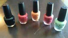 OPI Nail Polish Lacquer - LOT OF 5 *BRAND NEW* 30$+MSRP NO REPEATS LIMITED QTY