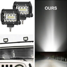 Truck Car LED Super Bright Work Driving Light with Mounting Brackets Waterproof