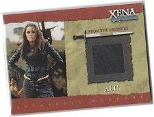 "Xena The Warrior Princess Season 6 (Six) - R7 ""Alti"" Black Leather Costume Card"