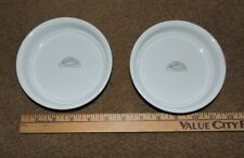 "2 NEW PILLIVUYT FRANCE PORCELAIN CREME BRULEE DISHES, TARTS, SOUFFLES 5.25"" X 1"""