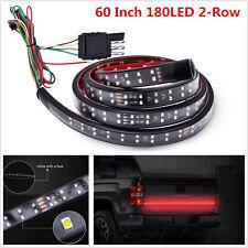 "60"" 2-Row LED Truck Tailgate Light Strip Reverse Stop Turn Signal Running Lamp"
