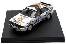 Trofeu 1 43 AUDI quattro #8 RAC Rally 1985 Eklund - Cederberg