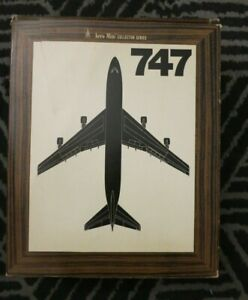 Aero Mini American Airlines Boeing 747 Diecast Model with Original Box and Stand