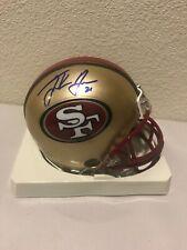 Frank Gore Signed San Francisco 49ers Mini Helmet PSA/DNA