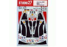 Studio27 DC759C 1:24 R10 LM/ALMS 2007 Original Decals