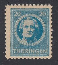 GERMANY, Soviet Zone, 1945. Thuringen, Mi 97AX, IV, Mint **