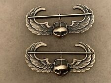 Us Army Air Assault Badges Sterling Silver Krew G-1 Lot(2) *Review Pics*