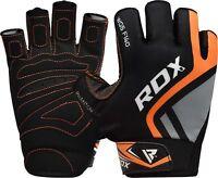 RDX Guanti Palestra Sollevamento Pesi Allenamento Fitness Pelle Bodybuilding IT