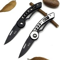 Outdoor Camping Folding Stainless steel Knife Hunting Survival Sharp Blade