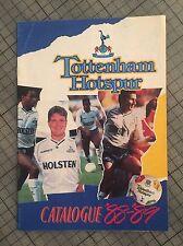 Tottenham Spurs UFFICIALE Primavera estate Shop catalogo 1988 89 Gazza