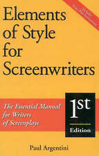 Elements of Style for Screenwriters: The Essential Manual for Writers-ExLibrary