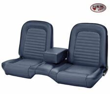 1964-1/2 -1965 Ford Mustang Coupe Blue Front Bench Seat Upholstery - Made by TMI