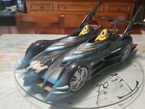 2003 Mattel Batmobile with Robin Motorcycle