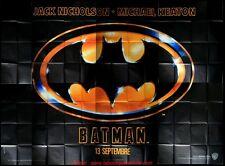 BATMAN Affiche Cinéma GEANTE 4x3 WIDE Movie Poster TIM BURTON 400x320