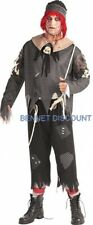 ADULT RAG DOLL MAN FANCY DRESS HALLOWEEN COSTUME MED SCARY FREE UK P+P REDUCED