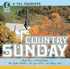Various Artists : K-Tel Presents: Country Sunday CD