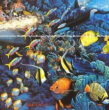 Harmony Killer Whale Dolphin Sea Fish Jigsaw Puzzle Ceaco Lassen 550pc SEALED