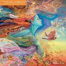 JOSEPHINE WALL 2014 CELESTIAL JOURNEYS WALL CALENDAR 16 MONTH GLITTER COVER
