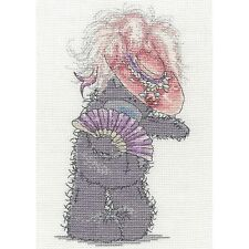 DMC TATTY TEDDY ME TO YOU ALL DRESSED UP COUNTED CROSS STITCH KIT BL1129/72