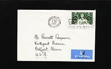 England Elizabeth Ii Coronation 1953 Air Mail Long Live Queen 1 Pound 3 Cover 1y