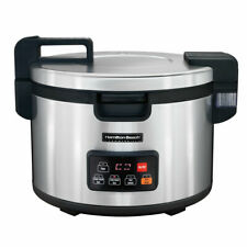 Hamilton Beach 37590 90 Cup Commercial Rice Cooker Stainless 240v1ph