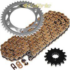 Gold O-Ring Drive Chain & Sprockets Fits HONDA CBR929RR CBR954RR 2000-2003