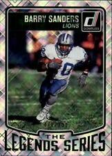 2016 Donruss The Legends Series Lions Football Card #4 Barry Sanders /999