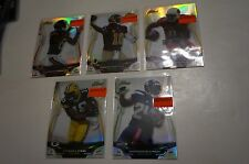 Lot of 5 2014 Finest Refractor #18 19 39 52 91 Marshawn Lynch Randall Cobb +More