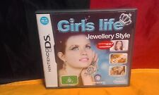 Girls Life: Jewellery Style - Nintendo DS - VCG - Includes Manual