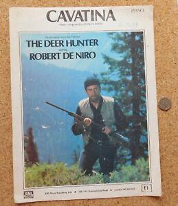 Cavatina Deer Hunter theme vintage sheet music piano 1970s Robert de Niro film