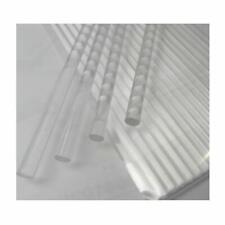"30pcs Acrylic Rods Acrylic Clear Sticks, Round, Length: 4"",6"",8"" x Dia: 4mm, 2mm"