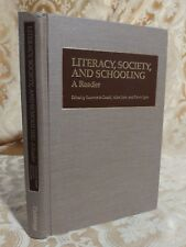 1986 Literacy, Society, and Schooling: A Reader Cambridge University Press Book