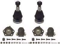 4 Piece Kit Front Upper and Lower Ball Joints