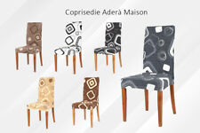 DUE Coprisedie Elasticizzate Adera Maison Vestisedia Coprisedia per 2 sedie Caos