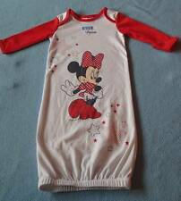 Disney Cute Girls Minnie Mouse Sleeper Gown, Size 00 (3-6 Months)