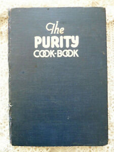 Vintage Purity Cookbook 1937 Western Canada Flour Mills Meat Cut Chart Recipes
