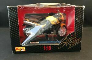 MAISTO SPECIAL EDITION TRIUMPH TIGER COLLECTIBLE DIE CAST MODEL MOTORCYCLE NIB