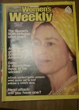The Australian Women's Weekly April 7, 1976 Vintage Queens 50th Birthday article