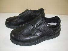 Broadway Orthofeet 510 Black Diabetic Shoes Black Strap Mens Size 10 2E