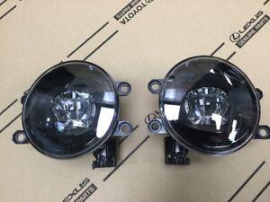 Genuine Toyota High Output LED Fog Light Upgrade w/Black Bezel PT413-42191
