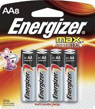 ENERGIZER AA8 BATTERY 8 PACK BATTERIES NEW TECHNOLOGY ENERGY E91BP-8