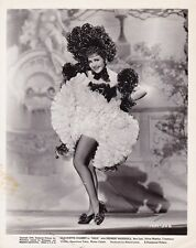 CLAUDETTE COLBERT Leggy Dance Hall Girl Vintage 38 ZAZA PARAMOUNT Portrait Photo