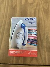 Sew Easy Dry Iron With Non Stick Soleplate
