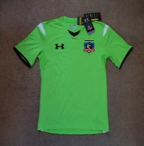 Under Armour Colo Colo  jersey NEW   SMALL    NWT tags  price lowered **********