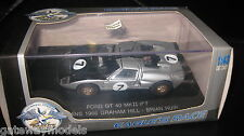 1/43 UNIVERSAL HOBBIES EAGLE FORD GT 40 MKII #7 LE MANS 1966 GRAHAM HILL B HUIR
